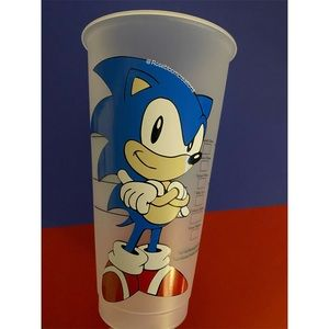Sonic the hedgehog Starbucks cup